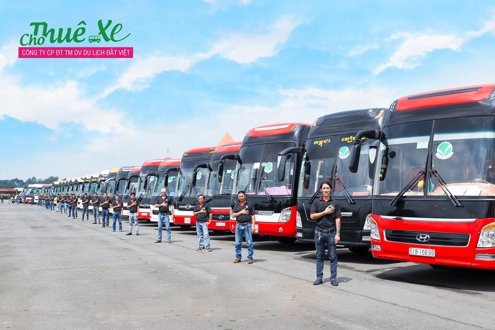 Đất Việt Tour chuyên cung cấp dịch vụ cho thuê xe du lịch giá rẻ, uy tín